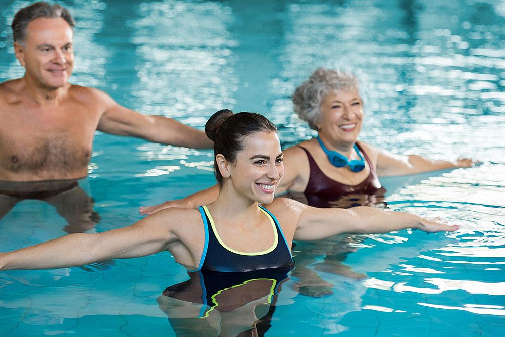 Wassergymnastik